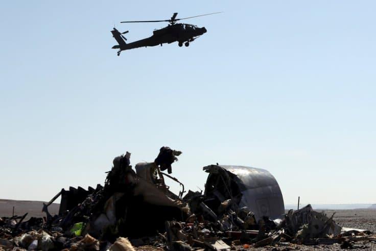 Reino Unido suspende vuelos a Egipto por posibles implicaciones de bomba en desastre de línea rusa