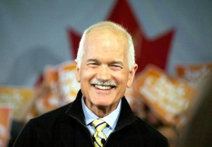 Jack Layton, Leaders Tour - Tournée du Chef -  Winnipeg Rally