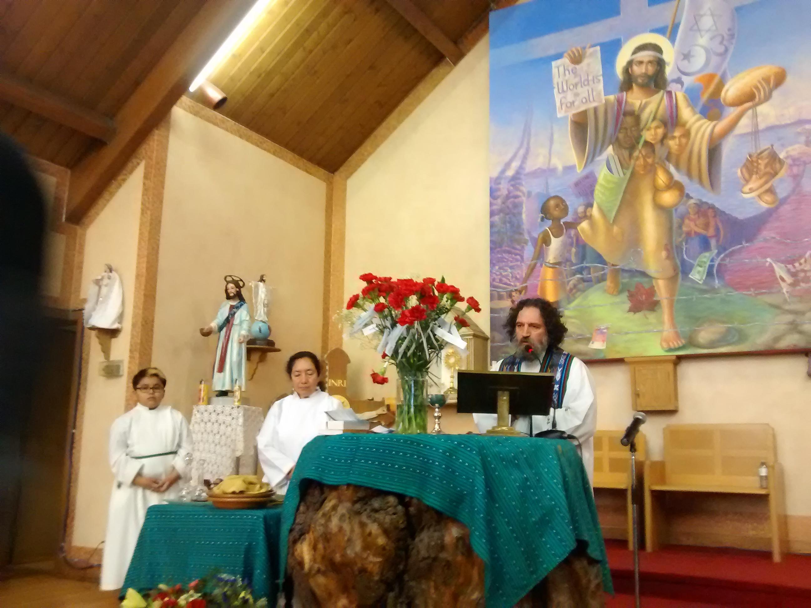 Iglesia San Lorenzo recordó la masacre de embajada de España en Guatemala