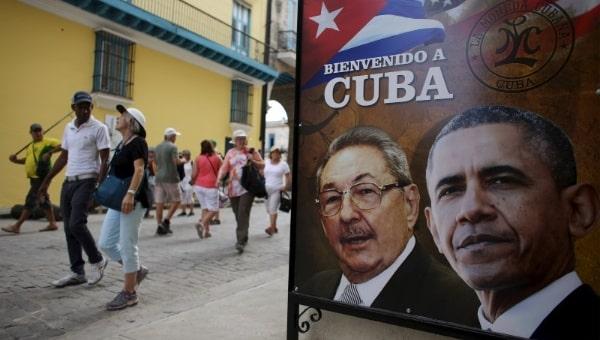 En Histórica visita de Obama a Cuba, se insinúa el término del bloqueo aunque no el cuándo