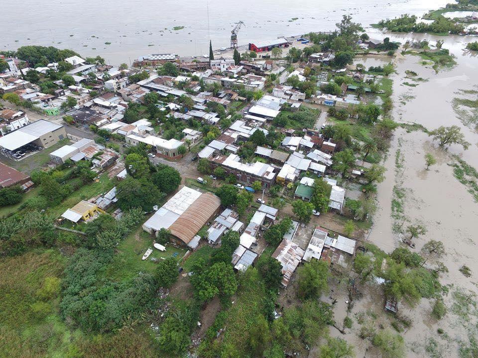 Argentina: Catastróficas inundaciones en Santa Fe, Entre Ríos y Corrientes son a un nivel