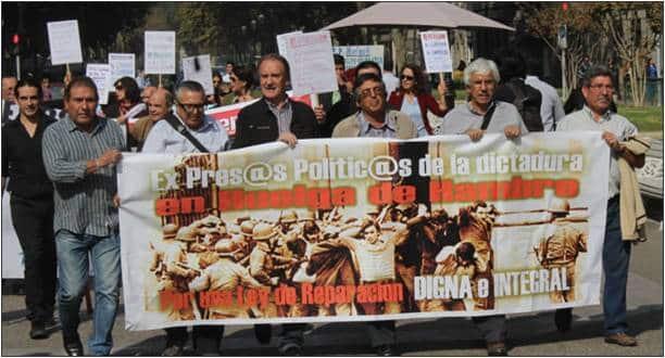 Ex Presos Políticos de dictadura chilena en huelga de hambre por incumplimiento de gobierno
