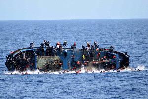 Cerca de mil migrantes murieron la semana pasada intentando llegar a Europa