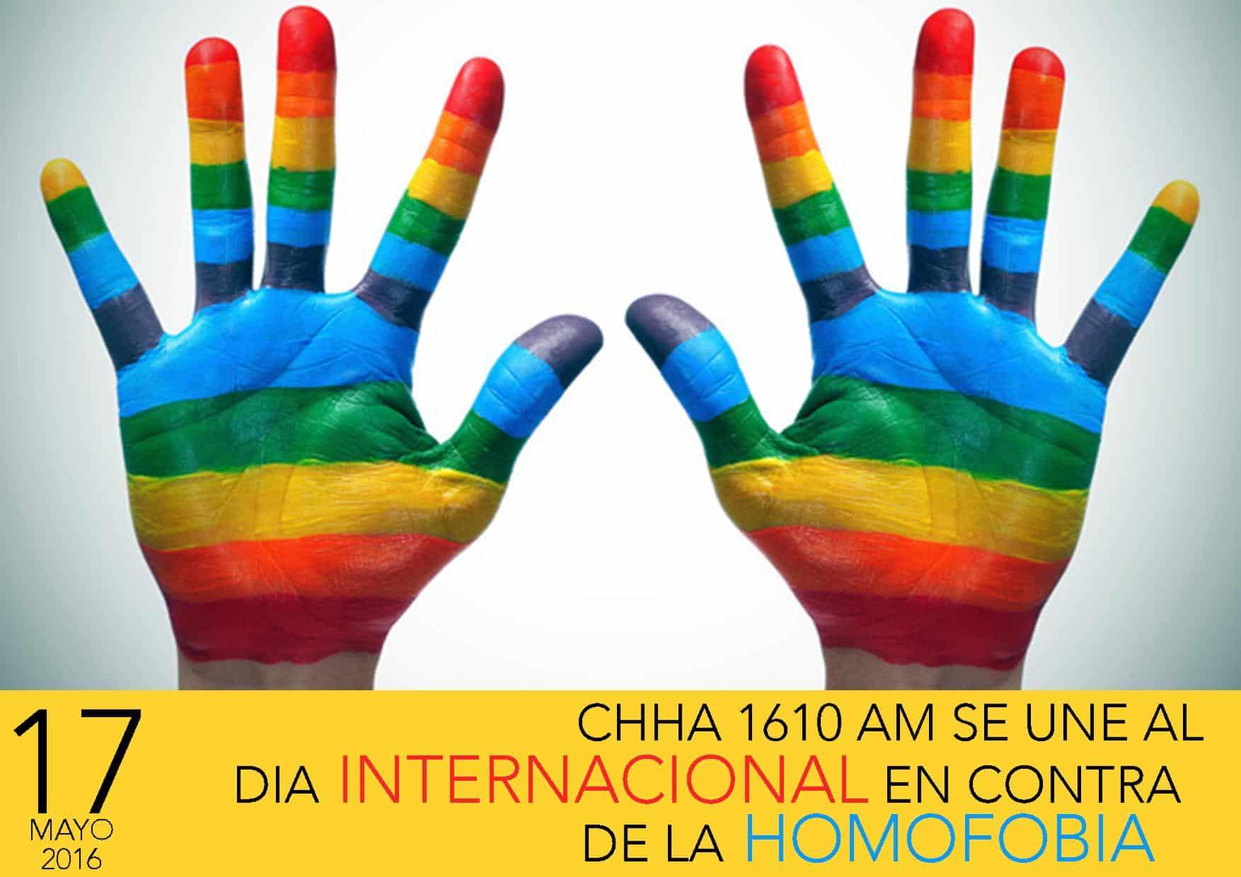 17 de Mayo, Día Internacional en contra de la homofobia y transfobia