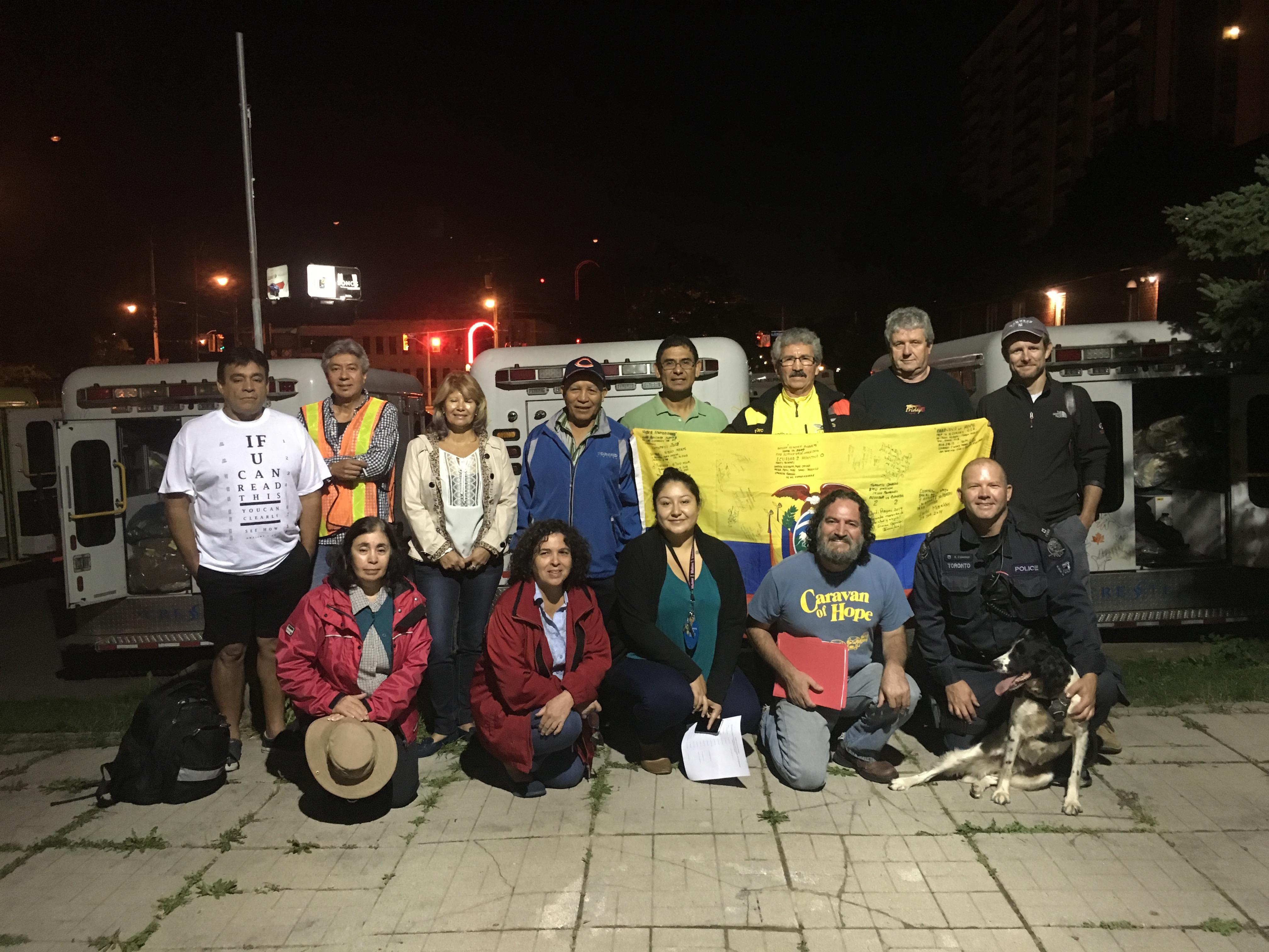 Caravana De La Esperanza Continua su ruta solidaria