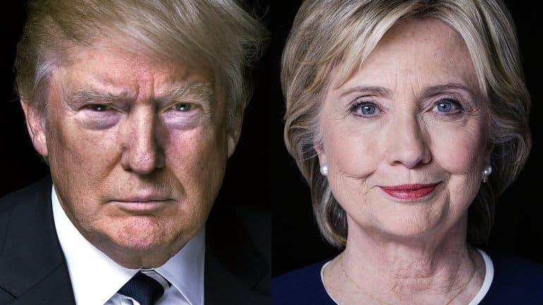 Sondeo indica virtual empate entre Clinton y Trump en la previa de primer debate