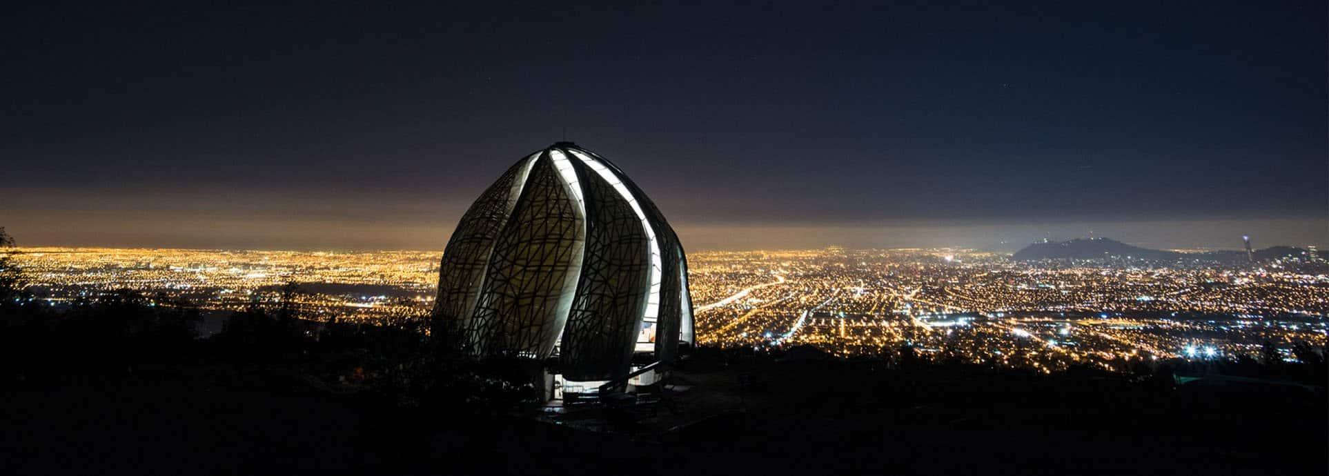 Inauguran el primer templo de la religión mas joven del mundo en sudamérica: Bahá'í