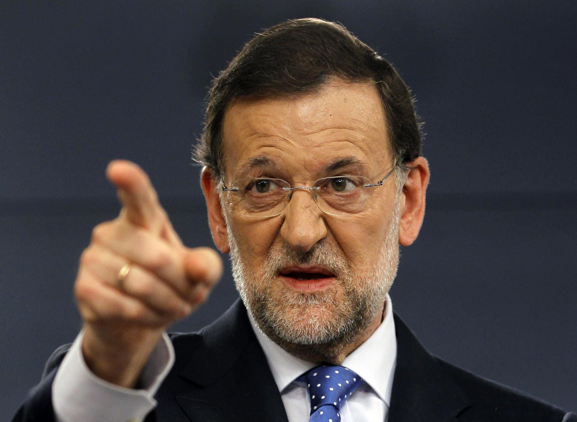 Congreso español rechaza reelección de Rajoy como presidente