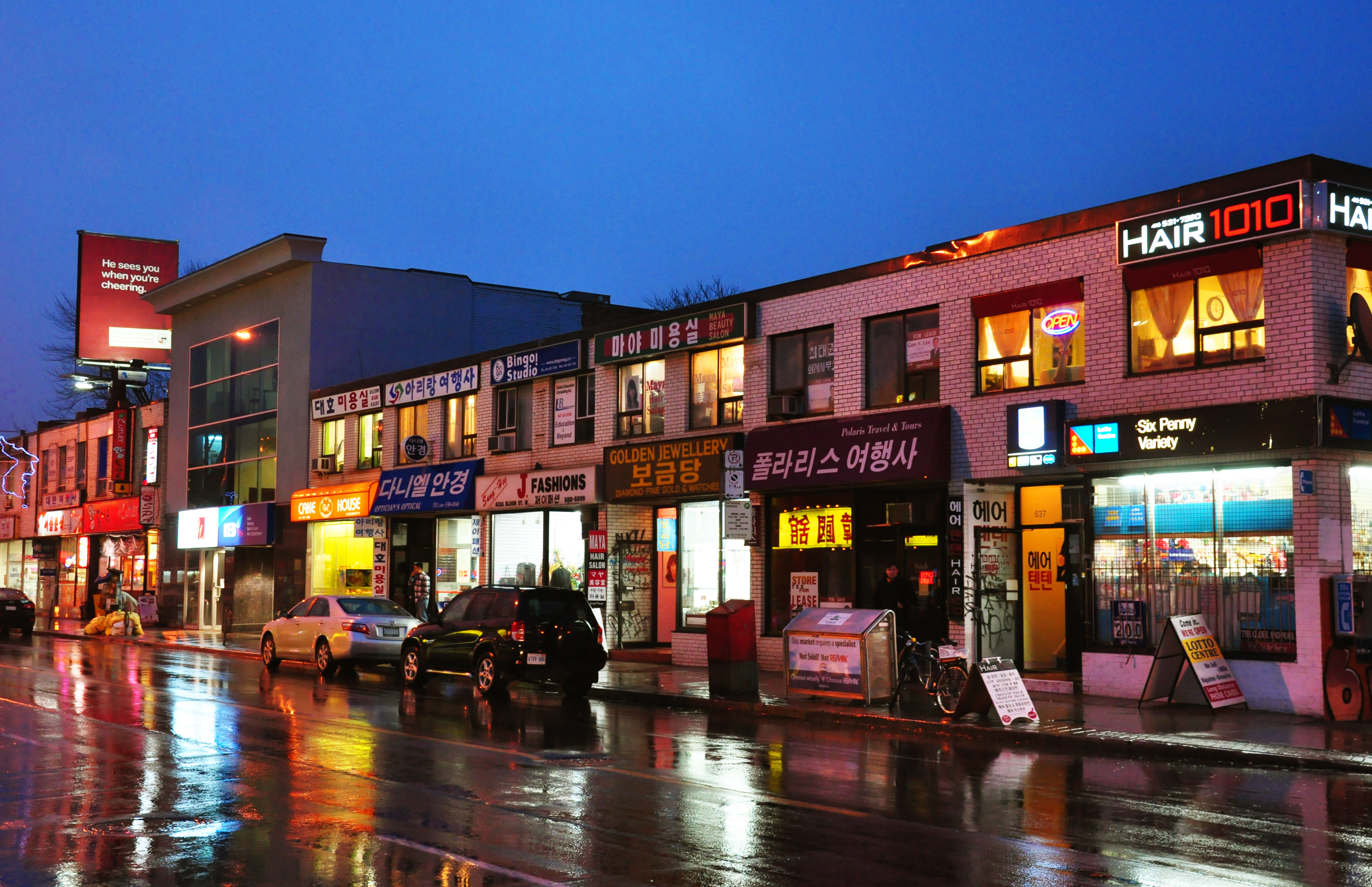 Barrio coreano de Toronto manifiesta preocupacion por las