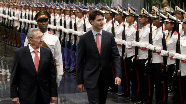 Tras casi dos décadas, un Primer Ministro Canadiense visita Cuba