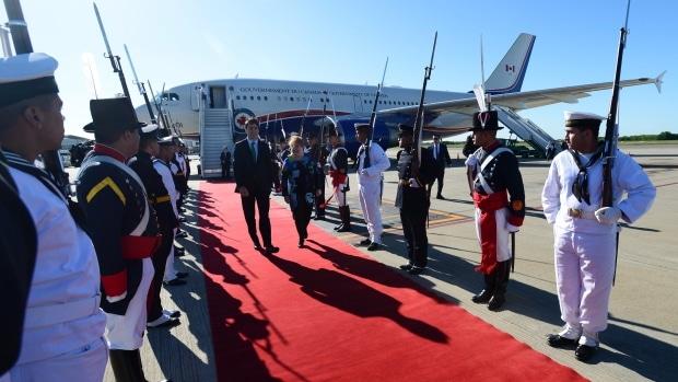 Justin Trudeau visita Argentina siguendo con su gira latinoamericana