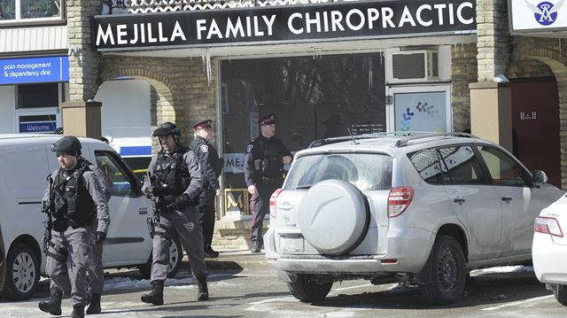 Tiroteo e intento de suicidio en clínica Quiropráctica de familia hispana en Burlington