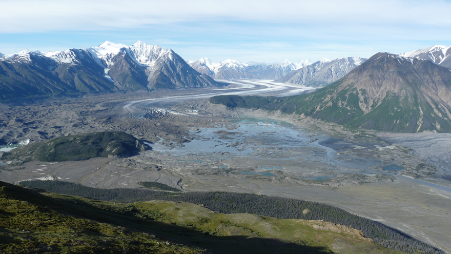 Cambio Climático: Río Glacial en Yukón desaparece en 4 días