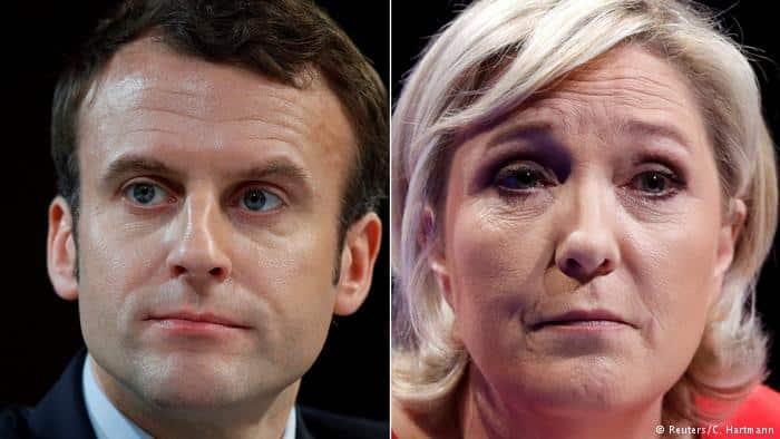 Segunda Vuelta electoral en Francia: Centrista Macron recibe apoyo transversal para evitar triunfo de la ultra derecha