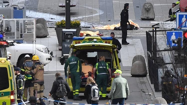 Masivo atropello de camión en Estocolmo es catalogado como