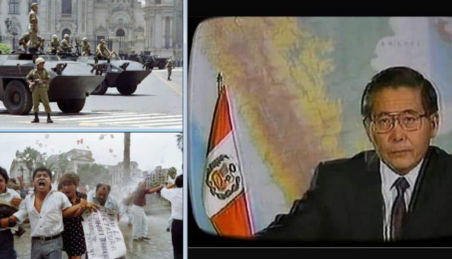 Se cumplen 25 años del autogolpe de Alberto Fujimori en el Perú