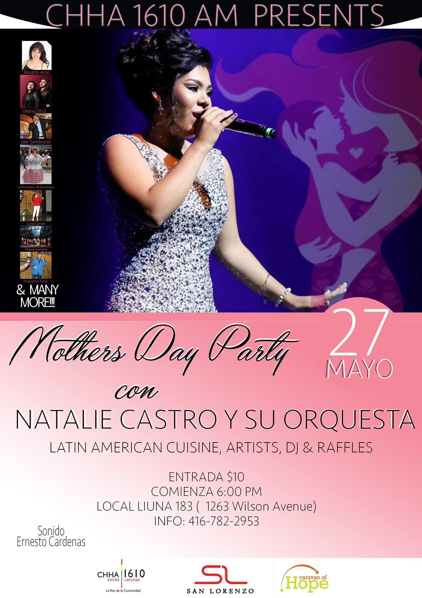 Radio Voces Latinas Invita a celebrar a las mamás este 27 de mayo en evento espectacular