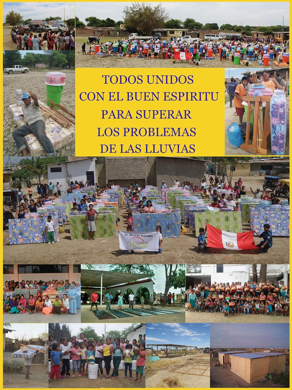 Caravana de la Esperanza: Casas, camas, colchones, ollas y utencilios de hogar llegan a damnificados de Piura gracias a donación de Radiotón