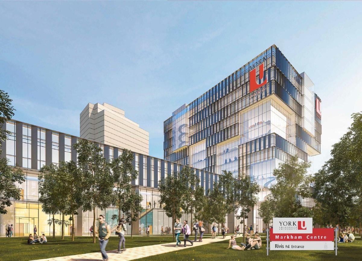 Universidad de York abrirá una sede en Markham el 2021