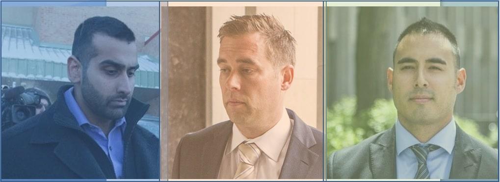 Policías acusados de asaltar sexualmente a colega son declarados no culpables