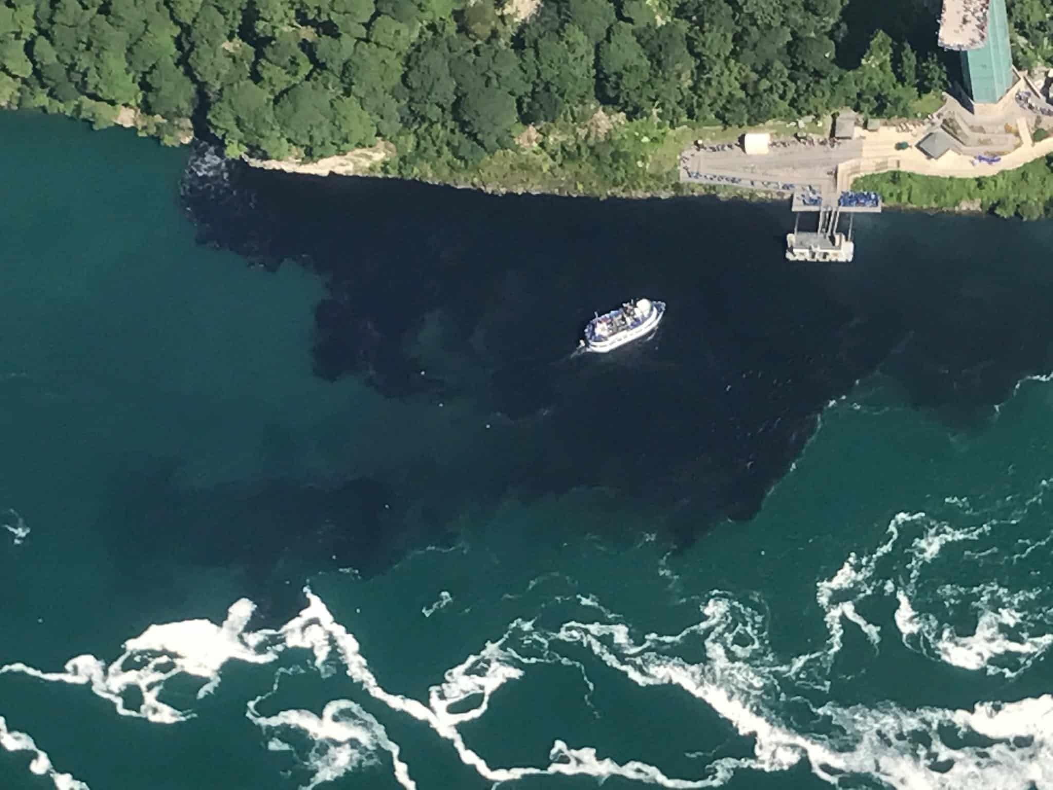 Aguas cercanas a las Cataratas del Niágara posiblemente contaminadas con deshechos de empresa estadounidense