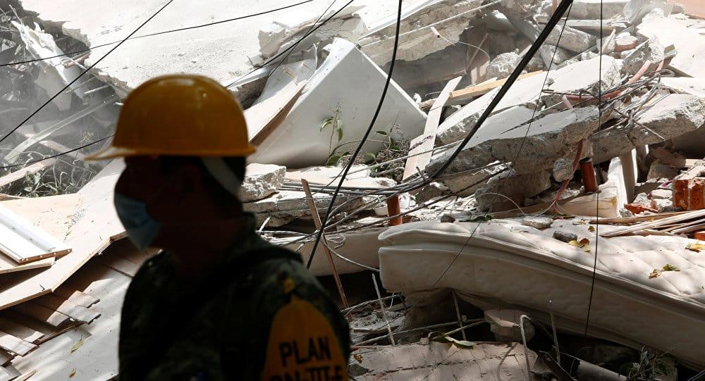 Continúan labores de rescate en México y cifra de fallecidos se eleva