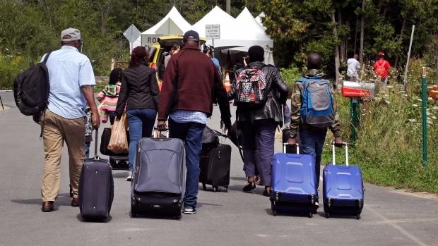 Intensidad de Ola de refugiados llegando a Canadá comienza a bajar