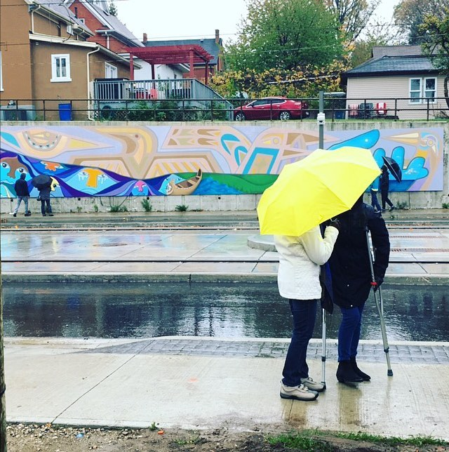 Develan mural sobre la inclusión y la pertenencia en Kitchener, Ontario
