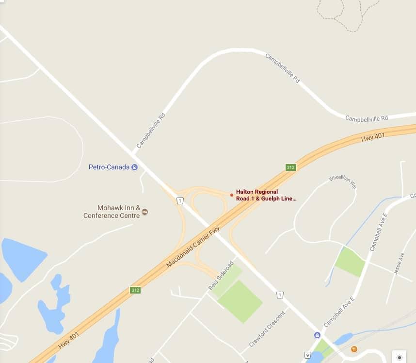 Cierran tramo de autopista 401 por accidente que involucró seis vehículos