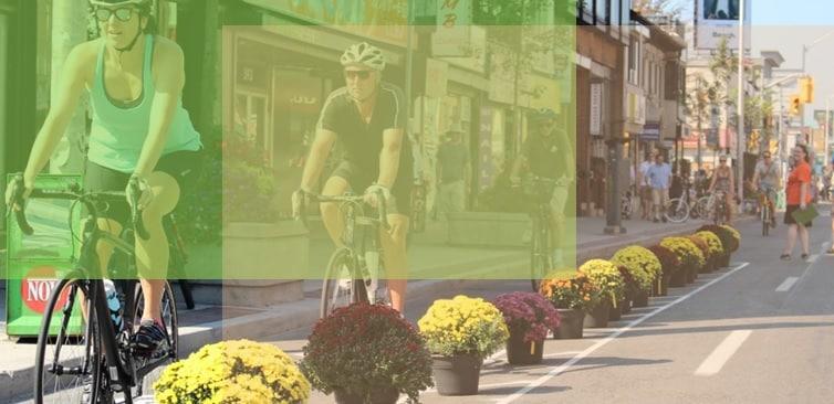 Ciclovías de Bloor St están a punto de ser aprobadas tras mayoritario apoyo de comité especial.