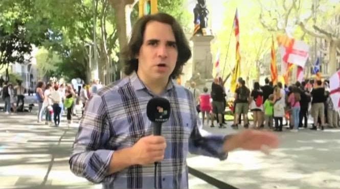 Entrevista a Joan Ortiz i Serra - periodista catalán, por referendo independentista