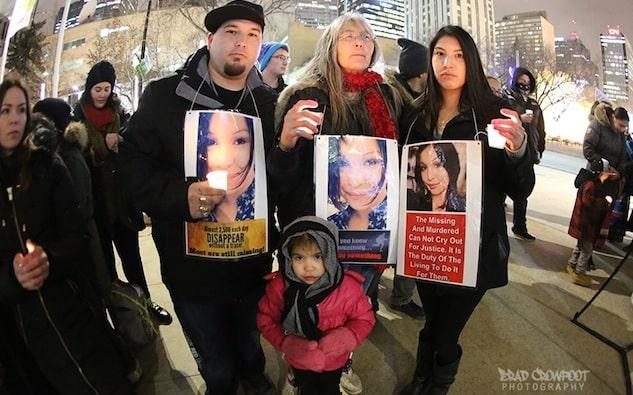 Por muertes y desapariciones de mujeres indígenas, Realizan vigila por todo Canadá