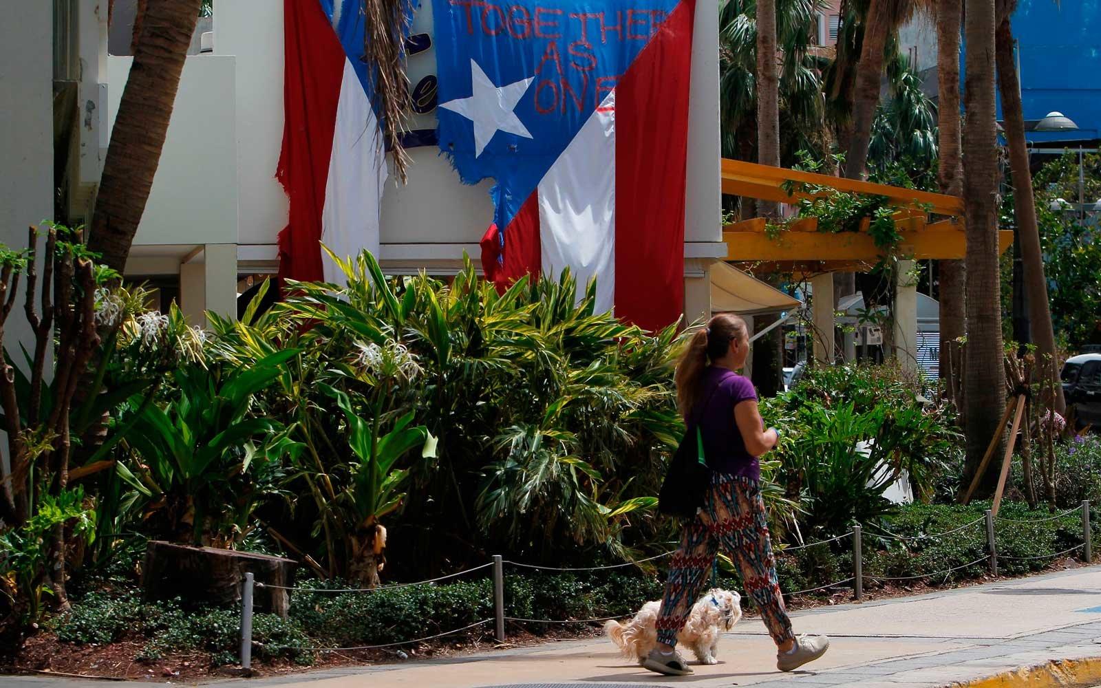 Puerto Rico a un mes de