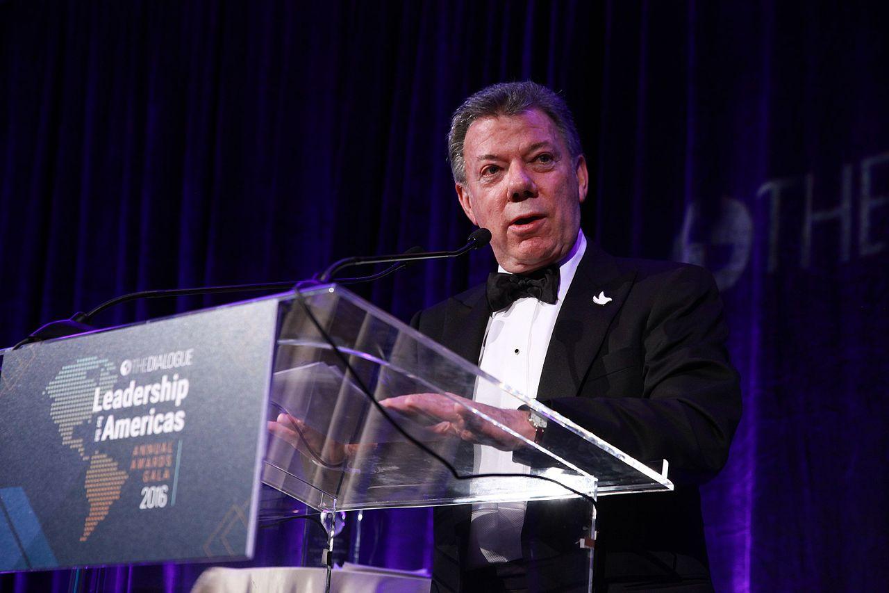 Presidente de Colombia inicio visita de dos dias a Canada