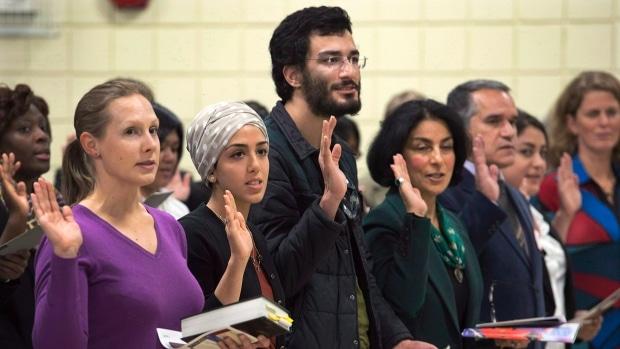 Cerca de un millón de nuevos inmigrantes se esperan para Canadá para el 2020