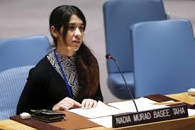 Ex prisionera del Estado Islámico es hoy embajadora por la Dignidad de los sobrevivientes del Tráfico Humano