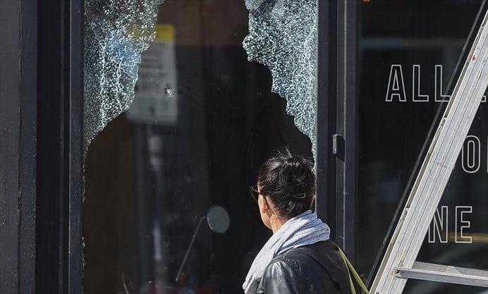 Inexplicable acción vandálica sacude el centro de Hamilton