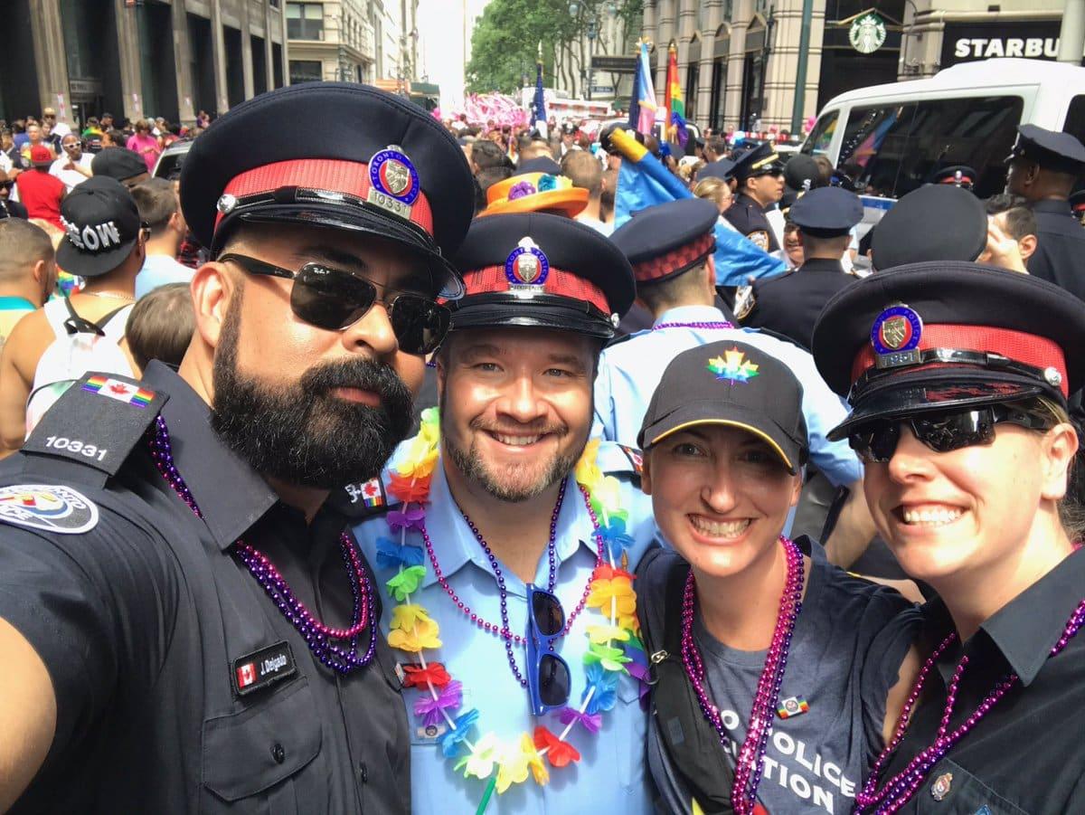 Policía de Toronto no desfilará en uniforme en edición 2018 del