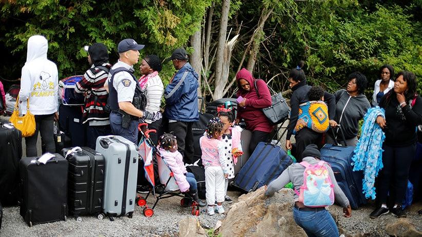 Sube la cantidad de peticiones de asilo en Canadá