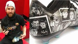 Diseños de artista paraguaya se convierten en favoritos de Messi y de varias estrellas del fútbol