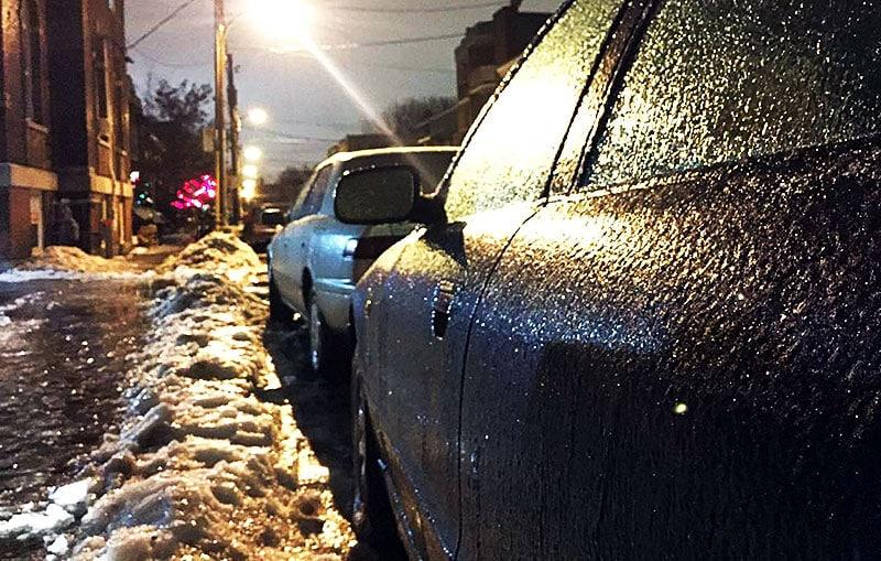 Pronostican lluvia congelada para el Sur de Ontario