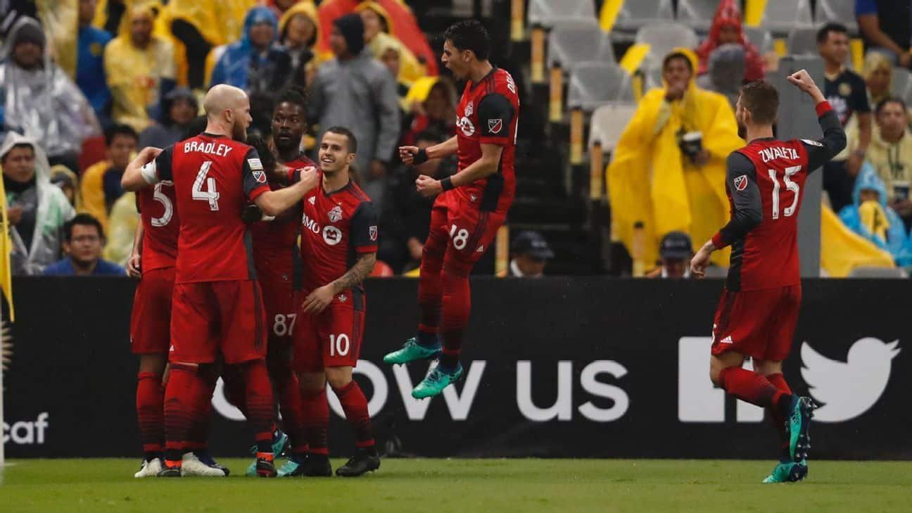 Toronto FC  logra final de la Champions de CONCACAF  tras superar al América de México