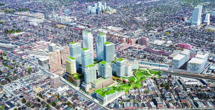 Oeste de Toronto vive un boom inmobiliario que lo transformaría en el