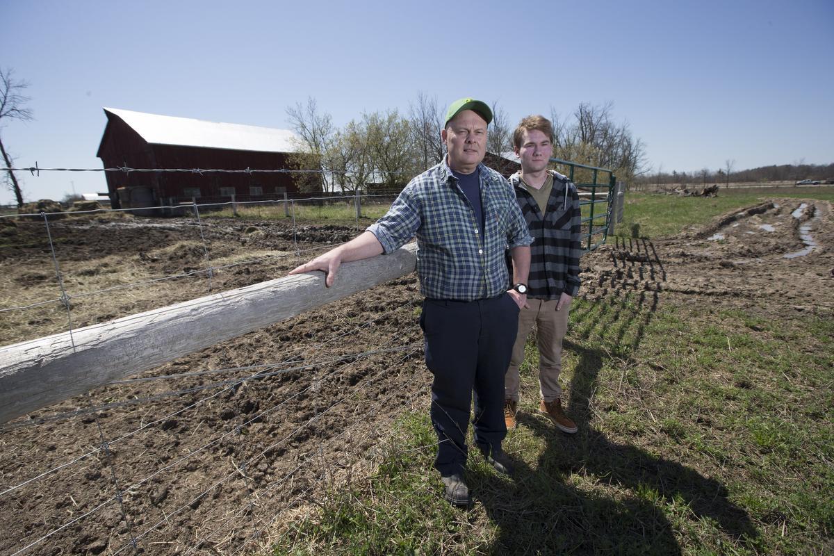 Granja familiar de Milton se resiste a que el  Board Católico le expropie gran parte de sus tierras