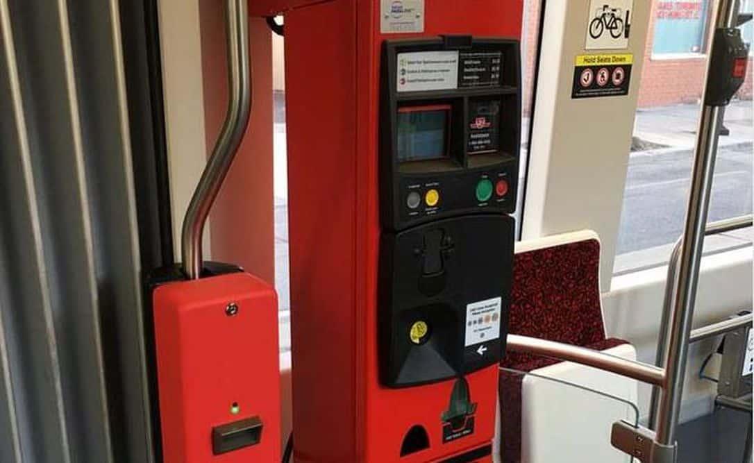 Streetcars de Toronto reemplazarán sus máquinas de pago de pasajes